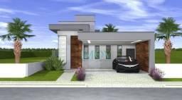 Casa com 3 dormitórios à venda, 189 m² por R$ 1.100.000,00 - Condomínio Floradas do Parate