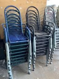 """Cadeira de Área, reforçada, tubo grosso de 1.1/4"""""""