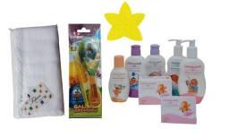 Kit Produtos de Banho para o Bebê Giovanna Baby Giby 10 Itens - Frete Grátis para MG