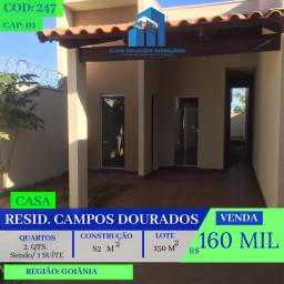 Casa De 2 Quartos - Campos Dourados - Goiânia