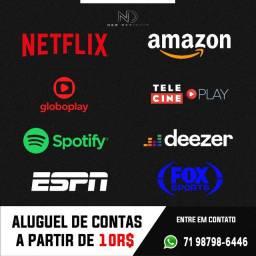 Netflix, Globoplay etc...