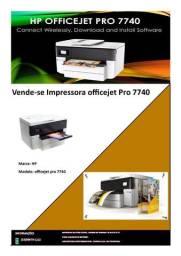 Impressora Officejet pro 7740 HP