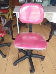Cadeiras novas para home-office e poltronas giratória
