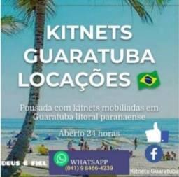 Locação casa / kitnet/ praia GUARATUBA