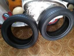 Dois pneus. michelim aro 17 225*50 17