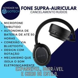 Fone Supra-Auricular com cancelamento de ruído ativo e passivo
