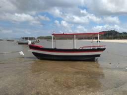 Barco de fibra novo