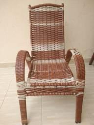 Cadeira pe fixo, para varanda