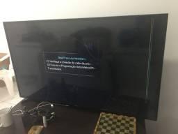 Smart TV display quebrado