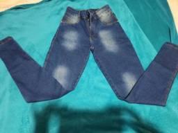 Calças skinny jeans novas tamanho 40