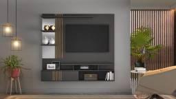 Painel Safira p/ TV até 49' com suporte de TV incluso