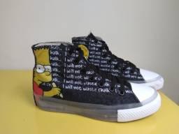 Tênis All Star Bart Simpson n. 35