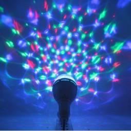 Lâmpada Automática Giratória Colorida