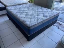 cama box queen size Ortobom -entrego