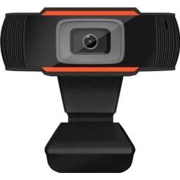 WebCam 720P/HD com microfone integrado- Na caixa lacrado
