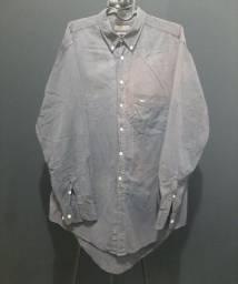 Camisa Aviator, cinza, tamanho 5 (GG).