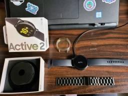 Smartwatch Samsung Galaxy Watch Active 2 - Preto 44mm