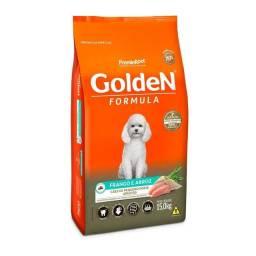 Ração Golden Fórmula Mini Bits para Cães Adultos Frango e Arroz<br><br>15Kg
