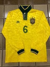Camisa do Brasil (Branco eliminatórias 1993)
