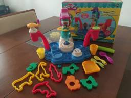 Play-Doh Swirl Ice Cream Fábrica de Sorvete