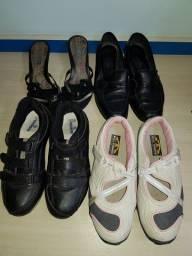Calçados n.35/ 4 pares