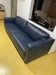 Sofá de couro 2,40mt