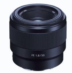 Lente Sony e sel FE 50mm f/1.8 f