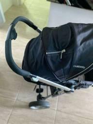 Carrinho e bebê conforto Kiddo Compass 2 - acompanha colchãozinho