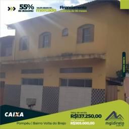 Casa à venda com 3 dormitórios em Volta do brejo, Pompeu cod:17486