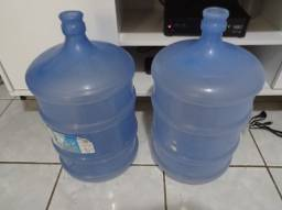 Garrafão galão de 20L de água mineral