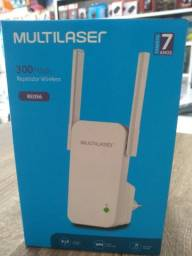Repetidor Wireless 2 Antenas Multilaser 300mbps Re056