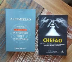 """Livros """"A Comissão"""" e """"Chefão"""" (vide descrição!)"""