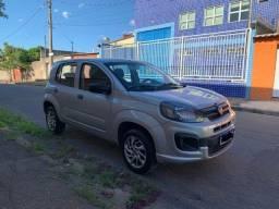 Fiat Uno Attractive Completo 2ºDono Sem Retoque Revisado Muito Novo 2019