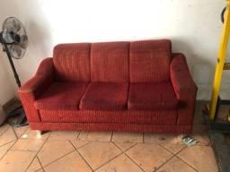 doação - conjunto sofá de 3x assentos (retirar no local)