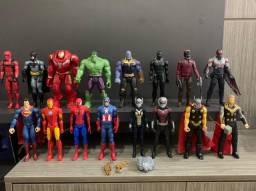 Bonecos Super Heróis Marvel e DC