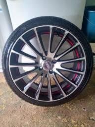 Troco pneu 205/40-17 ou jogo de rodas