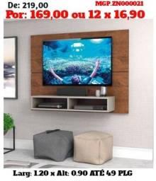 LiquidaMaringa- Painel de TV até 49 Plg-Painel de televisão até 49 Plg- Sala Estar-CorreBB