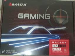 Placa de vídeo Rx550 4gb, nova na caixa pra vender com urgência