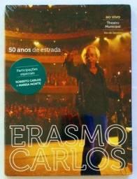 Dvd Erasmo Carlos, 50 anos de estrada. (Novo-lacrado)