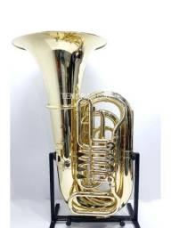 Tuba HS MUSICAL TB2 Sib 4 Rotores NOVA