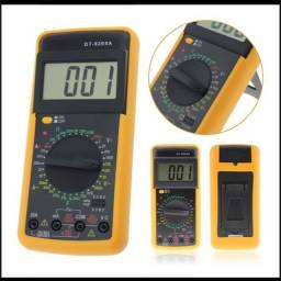 Multímetro digital com capacímetro profissional