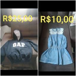 Vendo roupas de criança