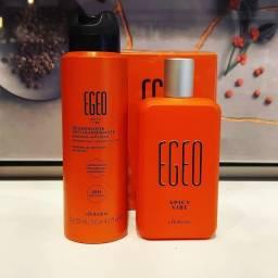 Egeo Spicy Vibe: Desodorante Colônia 90ml + Antitranspirante Aerossol 125 ML