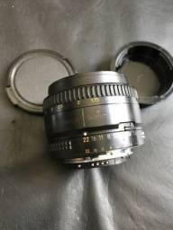 Lente Nikon 1.8 D