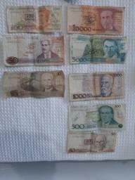 Dinheiro antigo - cruzado