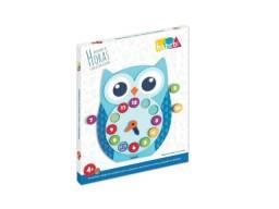 Brinquedos Educativos Relógio Pedagógico Corujinha Aprenda as Horas