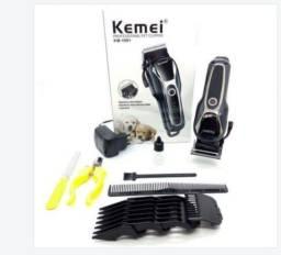 Maquina de tosa pet bivolt profissional kemei km-1991