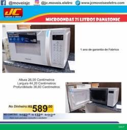 Micro-ondas 21 litros Panasonic com 1 ano de garantia.  Lp