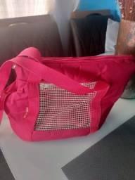 Bolsa para pets (grátis uma guia peitoral)