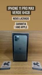 iPhone 11 Pro Max - Completo Novo Lacrado Garantia 1 ano Apple